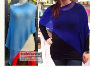 Knitted Poncho Wholesale from Bali Indonesia