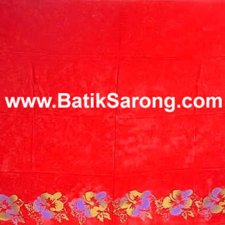 Double Process Sarongs Bali Indonesia