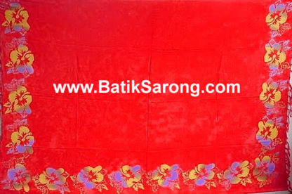 Double Process Sarongs Bali Indonesia